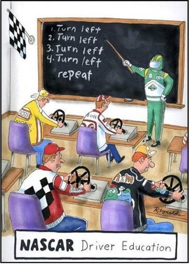 NASCAR Driver Education