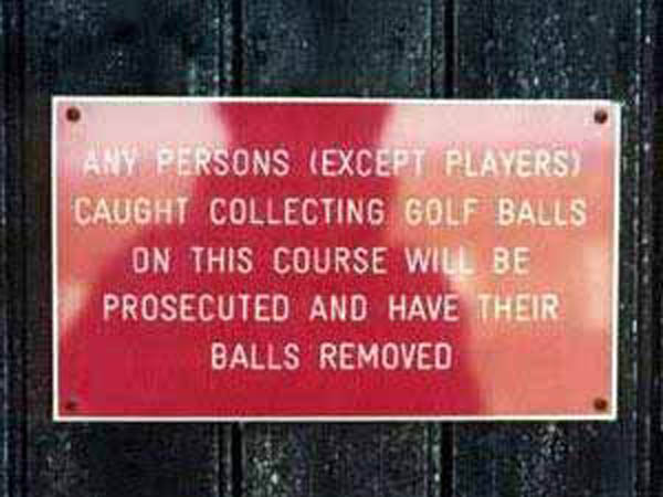 Have your balls removed? A liitle drastic?