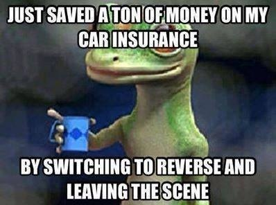 I saved a lot of money on car insurance...