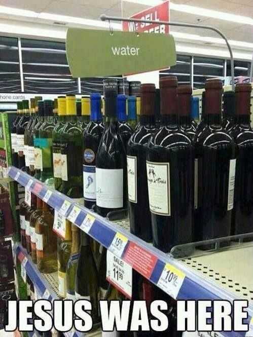 Jesus was here...
